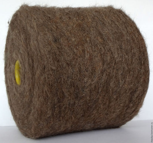 Filitaly-LAB Art: Cusko Jaspe (jaspe - яшма) Nm: 1/4000 (400 м в 100 г) 80% альпака 20% полиамид  Цвет: коричневый, медвежий, теплый.