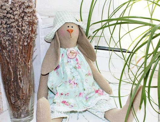 Куклы Тильды ручной работы. Ярмарка Мастеров - ручная работа. Купить Волшебная Зайка Розочка. Handmade. Комбинированный, для девочек, подарок