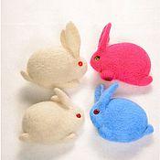 Заяц кролик брошь