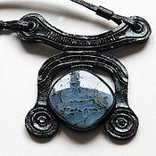 Украшения handmade. Livemaster - original item Ijevan pendant with agate. Handmade.