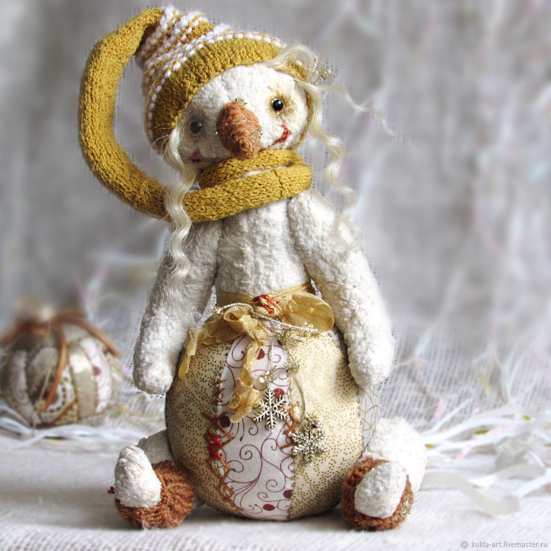 THEIA. Snowman Teddy, Stuffed Toys, Monchegorsk,  Фото №1