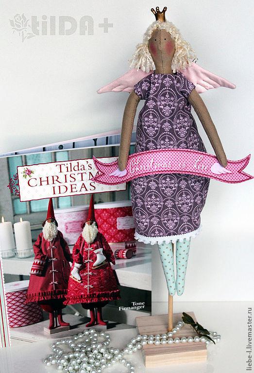 """Куклы Тильды ручной работы. Ярмарка Мастеров - ручная работа. Купить Кукла Тильда """"Рождественский ангел"""". Handmade. Кукла, тильда"""