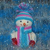 Подарки к праздникам ручной работы. Ярмарка Мастеров - ручная работа Снеговик Рома. Handmade.