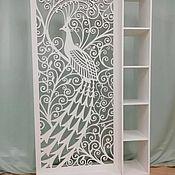 Для дома и интерьера handmade. Livemaster - original item Zoning rack. Peacock. Handmade.