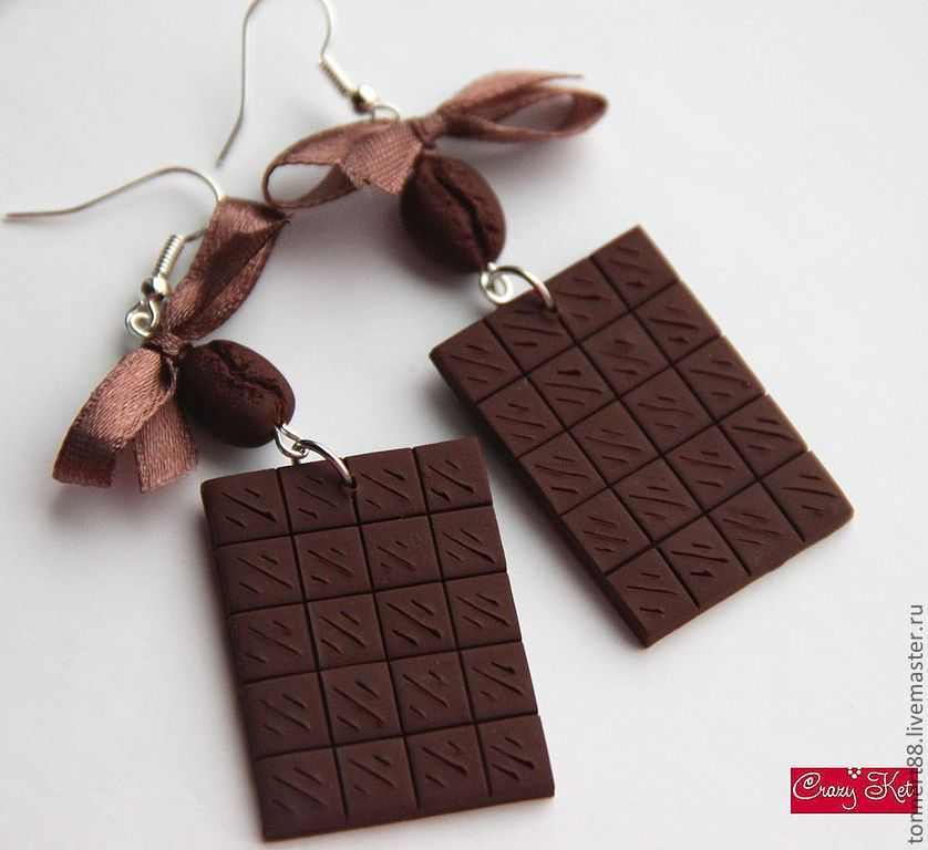 Шоколадка из пластики мастер класс  #3