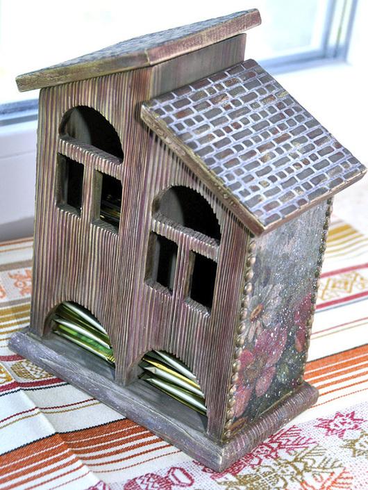 """Кухня ручной работы. Ярмарка Мастеров - ручная работа. Купить Чайный домик """"Старый замок"""". Handmade. Чайный домик"""