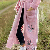 Одежда ручной работы. Ярмарка Мастеров - ручная работа Poussiere rose. Handmade.