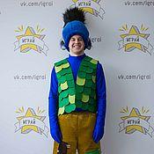 Одежда handmade. Livemaster - original item Trolls Branch costume (blue). Handmade.
