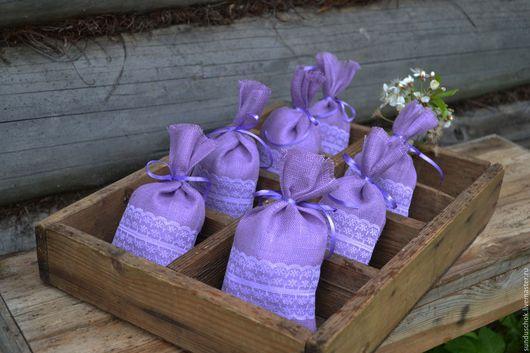 Упаковка ручной работы. Ярмарка Мастеров - ручная работа. Купить Мешочки для лекарственных трав, саше, мыла  (льняная сетка). Handmade.