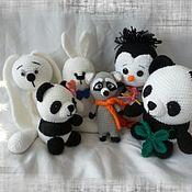 Куклы и игрушки ручной работы. Ярмарка Мастеров - ручная работа Черно-белая команда. Handmade.