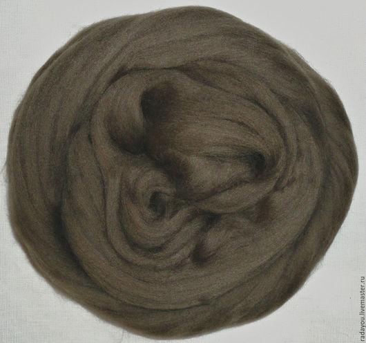 Валяние ручной работы. Ярмарка Мастеров - ручная работа. Купить 18 мн, Бобр, экстрафайн, шерсть для валяния. Handmade.