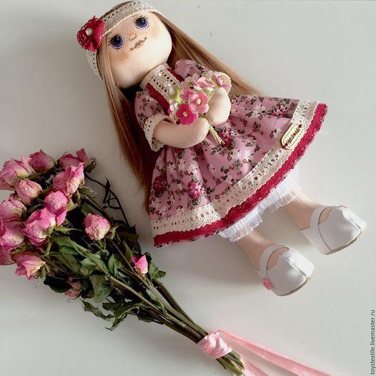 Коллекционные куклы ручной работы. Ярмарка Мастеров - ручная работа. Купить Текстильная кукла. Handmade. Кукла ручной работы