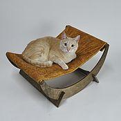 Лежанки ручной работы. Ярмарка Мастеров - ручная работа Гамак для кошек. Handmade.