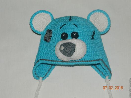 Шапки и шарфы ручной работы, шапка Тедди, шапка ручной работы, для фотосессии, Шапка для мальчика, шапка для девочки, вязание на заказ