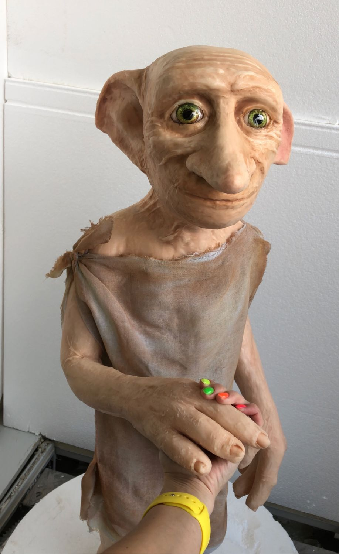 Реалистичная фигура Добби, Шарнирная кукла, Москва,  Фото №1