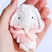 Куклы и игрушки ручной работы. Ярмарка Мастеров - ручная работа Розовый слоненок. Handmade.