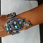 """Украшения ручной работы. Ярмарка Мастеров - ручная работа Браслет """"Пиратский фрегат"""". Handmade."""