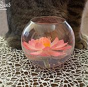 Для дома и интерьера ручной работы. Ярмарка Мастеров - ручная работа Лотос в вазе. Handmade.
