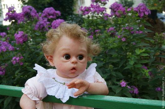 Куклы-младенцы и reborn ручной работы. Ярмарка Мастеров - ручная работа. Купить младенец реборн. Handmade. Бежевый