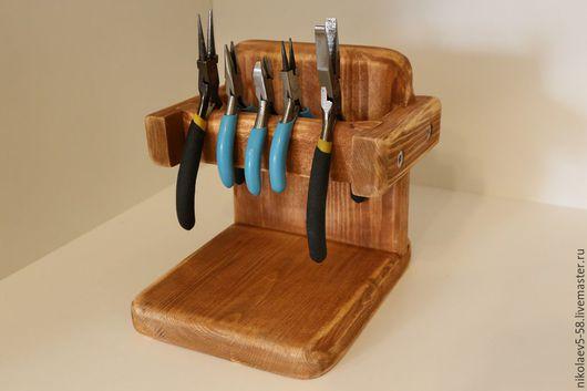 Другие виды рукоделия ручной работы. Ярмарка Мастеров - ручная работа. Купить Подставка для инструментов. Handmade. Подставка под инструменты