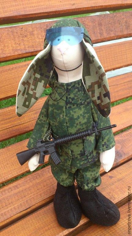 Куклы Тильды ручной работы. Ярмарка Мастеров - ручная работа. Купить Тильда солдат. Handmade. Разноцветный, игрушка в форме
