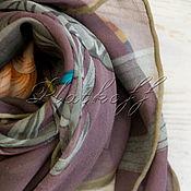 Аксессуары handmade. Livemaster - original item Crepe de Chine handkerchief. Handmade.