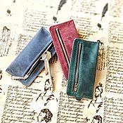 Сумки и аксессуары handmade. Livemaster - original item Key holder with zip. Handmade.