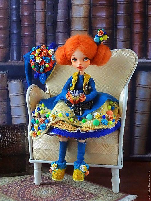 Коллекционные куклы ручной работы. Ярмарка Мастеров - ручная работа. Купить Кука. Авторская кукла. ООАК. Handmade. Рыжий, кукла