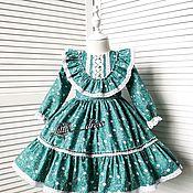 Платья ручной работы. Ярмарка Мастеров - ручная работа Платье для барышни. Handmade.