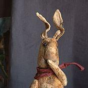 Куклы и игрушки ручной работы. Ярмарка Мастеров - ручная работа Большой Плюшевый Заяц. Handmade.