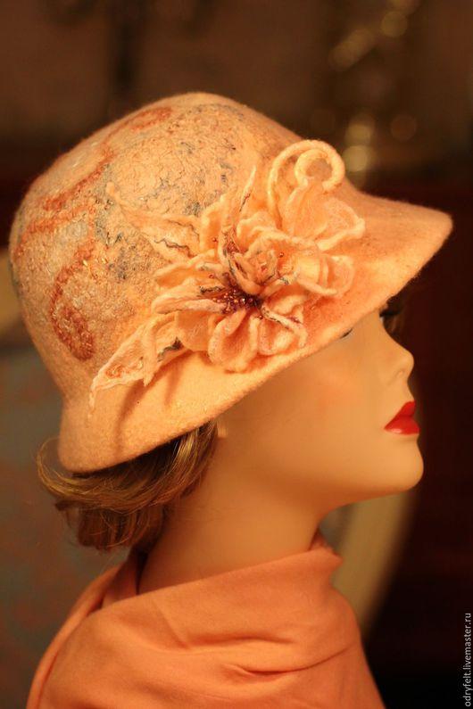 """Шляпы ручной работы. Ярмарка Мастеров - ручная работа. Купить Шляпка """"Вересковый мед"""". Handmade. Шляпка женская, купить шляпу"""