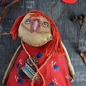 Куклы и игрушки ручной работы. Ярмарка Мастеров - ручная работа Чердачная кукла Нелюдка. Handmade.