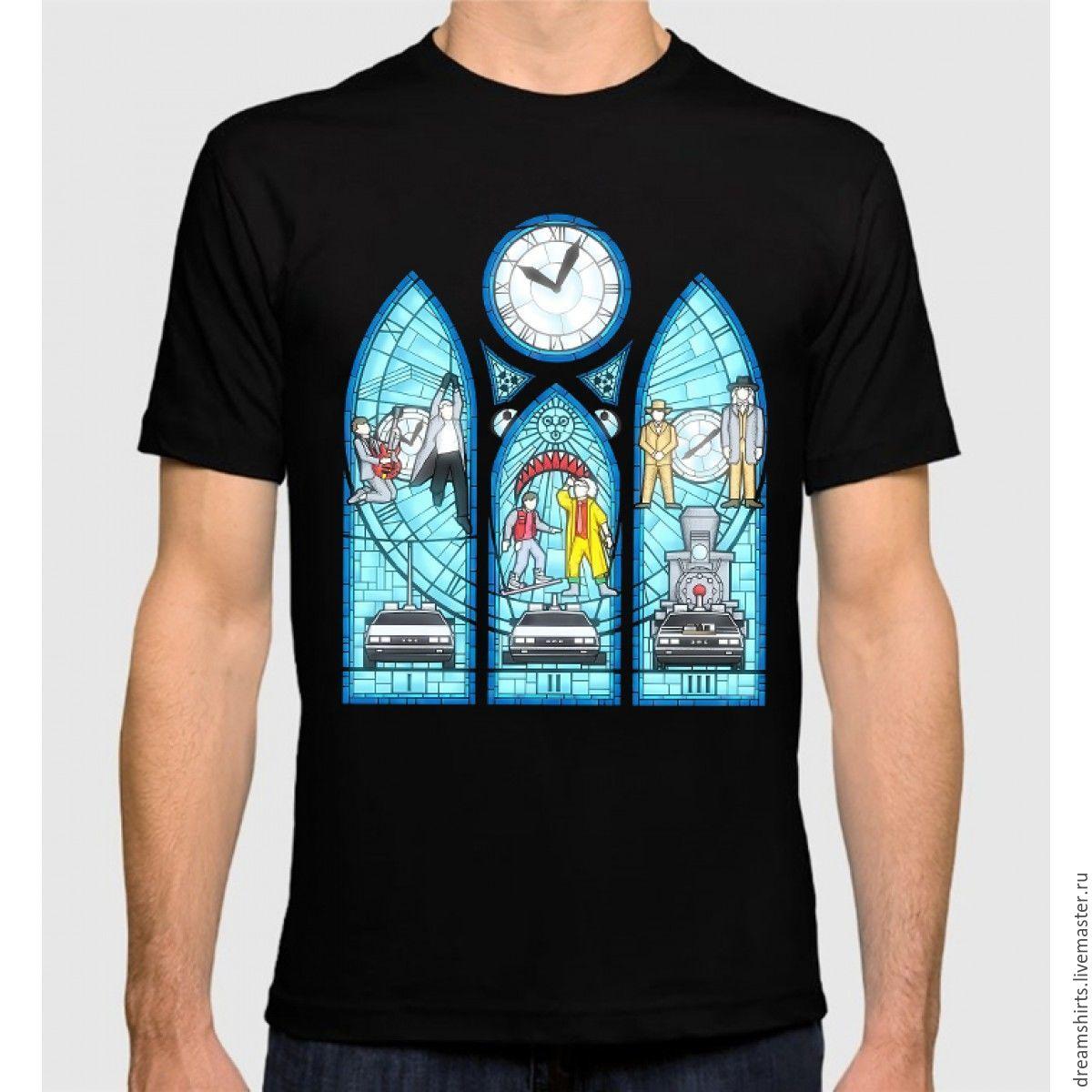 "Футболка с принтом ""Назад в Будущее"", T-shirts, Moscow,  Фото №1"
