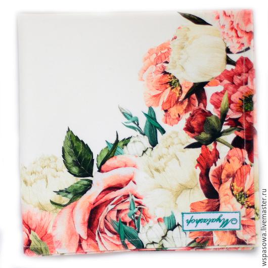 Кухня ручной работы. Ярмарка Мастеров - ручная работа. Купить Салфетка Розы. Handmade. Бордовый, красивая салфетка, красивые салфетки