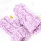 Аксессуары handmade. Livemaster - original item Knitted mitten assorted colors