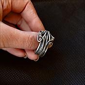 Украшения ручной работы. Ярмарка Мастеров - ручная работа Серебряное кольцо,эксклюзив. Handmade.