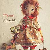 Куклы и игрушки ручной работы. Ярмарка Мастеров - ручная работа Пеппи. Handmade.