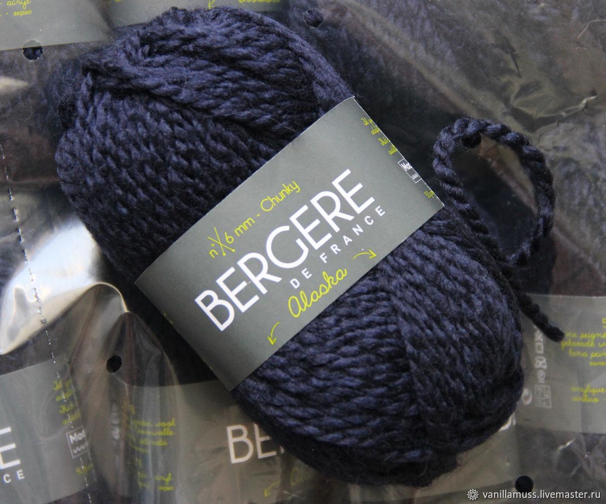 Вязание ручной работы. Ярмарка Мастеров - ручная работа. Купить Bergere de France Alaska - толстая пряжа. Handmade.