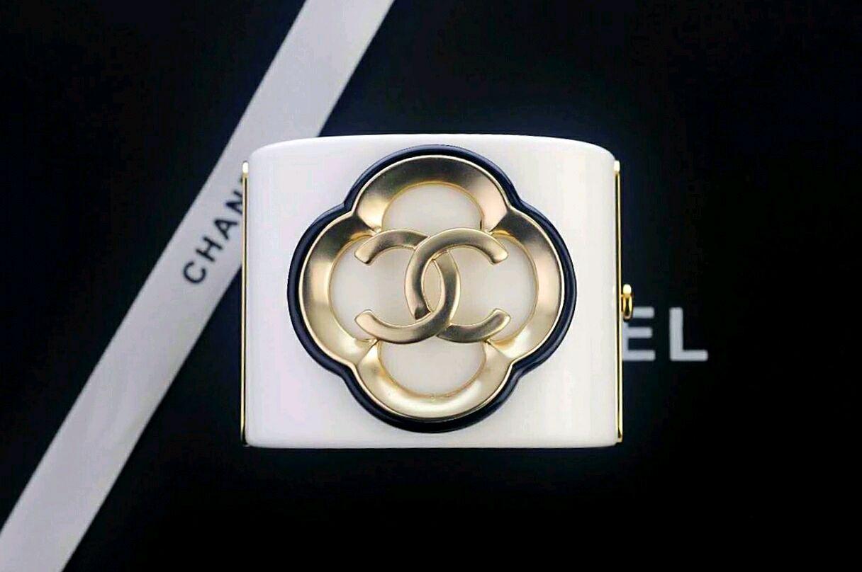 Браслет Chanel Широкий Классика. Чёрный и Белый. Браслет Шанель, Браслеты, Москва, Фото №1
