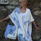 """Одежда ручной работы. Ярмарка Мастеров - ручная работа """"Фанагория """"авторский  вязаный кардиган. Handmade."""