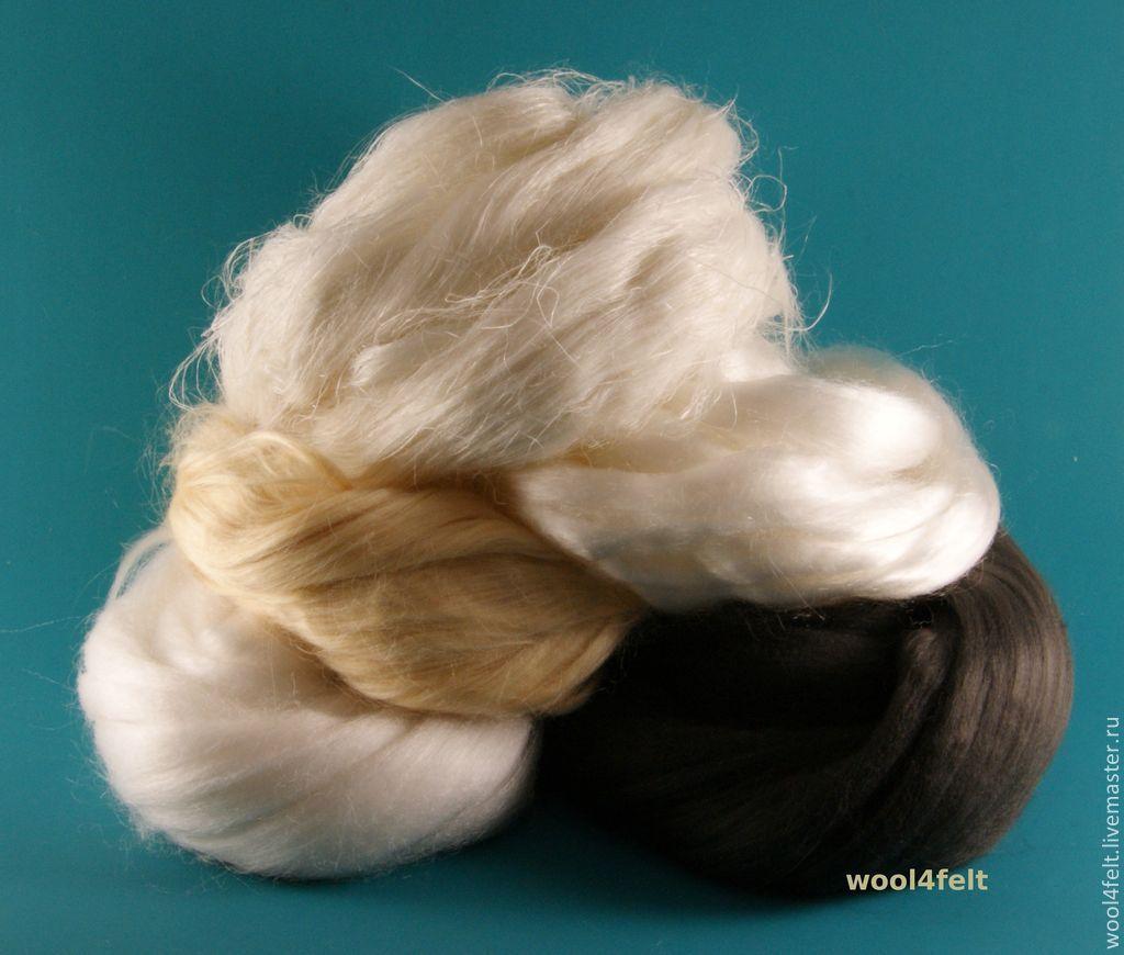 Набор волокон: лён, бамбук, тенсел, соя и кукуруза