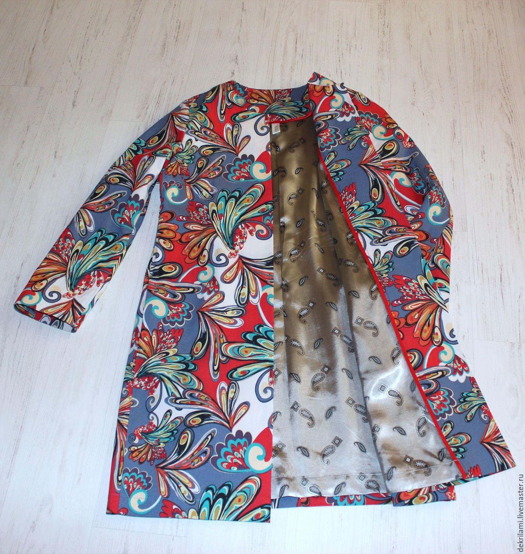 Сшить летнее пальто своими руками из жакаранды