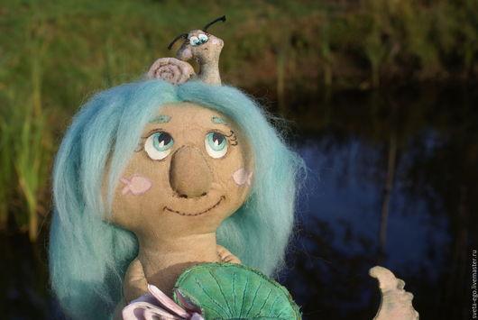 Коллекционные куклы ручной работы. Ярмарка Мастеров - ручная работа. Купить Авторская интерьерная игрушка Водяной Поликарп. Handmade.