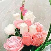 Косметика ручной работы. Ярмарка Мастеров - ручная работа Мыло -цветочная коллекция( любой цвет, огромный выбор цветов). Handmade.
