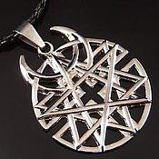 Фен-шуй и эзотерика handmade. Livemaster - original item Talisman of the moon pentagram. Handmade.