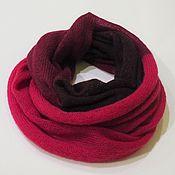 Аксессуары handmade. Livemaster - original item Snood knitted in two turns. Handmade.