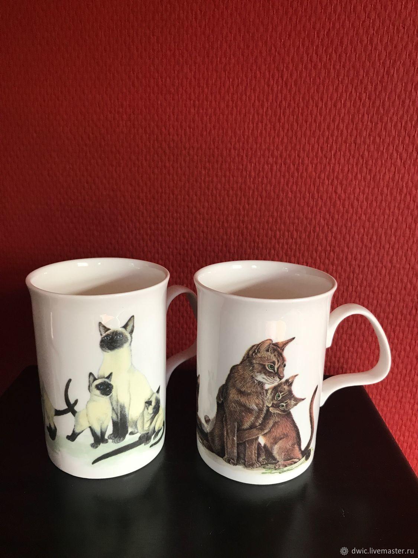 Чашки из костяного фарфора англия