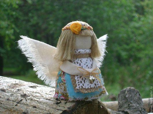 """Народные куклы ручной работы. Ярмарка Мастеров - ручная работа. Купить куколка """"Ангел"""". Handmade. Ангел, ангелочек, оберег"""