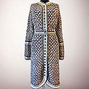 Одежда handmade. Livemaster - original item Crochet handmade tweed dress Yolanda. Elehant crochet silk dress. Handmade.