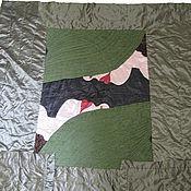"""Для дома и интерьера ручной работы. Ярмарка Мастеров - ручная работа Художественное покрывало """"Тайные мечты"""". Handmade."""